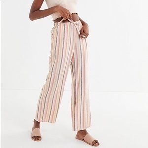 Urban Outfitters Chance Striped Wide Leg Pants